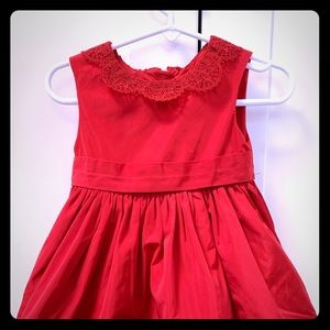 Baby Toddler Girl Jason Wu Neiman Marcus Red Christmas Holiday Dress 12M 18M 2T